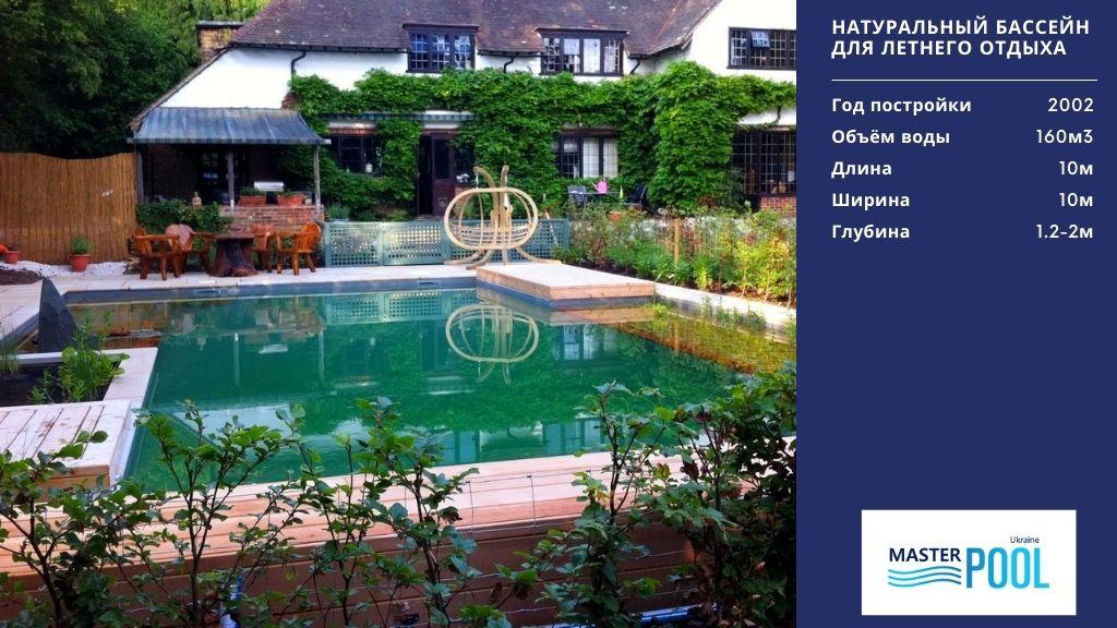 Натуральный бассейн для летнего отдыха - MasterPool Ukraine